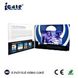 Подгонянная 2.4 '' 2.8 '' 4.3 '' 5 '' 7 '' 10 '' поздравительная открытка LCD цифров видео-