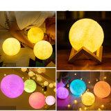 LED USB decorativos con forma de luna de luces para fiestas al aire libre