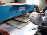 Tampas plásticas hidráulicas do copo de café que cortam a máquina