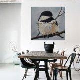 転売のためのパレットナイフによる卸し売りハンドメイドの鳥の油絵