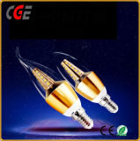 Iluminación LED E14 Bombilla de luz de velas LED de todo el cielo estrellas bombillas LED