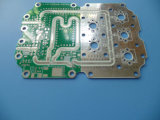 Материальный PCB монтажной платы 2layer RO4003c с 0.8mm толщиным