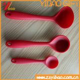 Cucchiaio su ordinazione dell'articolo da cucina del commestibile di colore e del silicone del Cookware