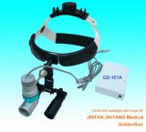 Instrumentos dentales de las lupas ligeras principales recargables quirúrgicas del LED