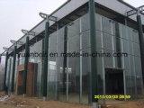 costruzione ad intelaiatura d'acciaio del calibro chiaro per la tettoia dell'acciaio del gruppo di lavoro del magazzino