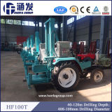 Hf100tのトラクターによって取付けられるタイプ井戸の掘削装置