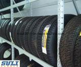 Shelving Foldable elevado industrial do armazenamento de cremalheira do pneu da capacidade de carga