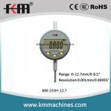 разрешение 0-12.7mm/0-0.5 '' индикаторы с круговой шкалой микрона цифров высокой точности с 0.001mm/0.00005 ''