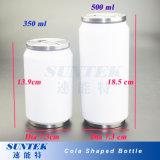 Vaso blanco blanco sublimación tazas en acero inoxidable Cola puede
