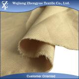 De Stof van de Gabardine van de Keperstof van de Polyester van 100% voor Eenvormig Kledingstuk