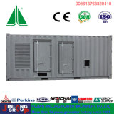 Tipo silencioso diesel Genset do recipiente de China 800kVA