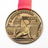 공장 가격 주문 3D 고대 금 금속 메달