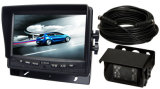 7 Inches Rearview Camera System with Trailer Cable Kit for Bus, Trucks,