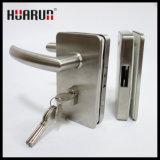 Замок ручки двери качания нержавеющей стали стеклянный (HR1130/HR1131)