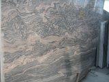 La Chine a poli la brame légère de granit de Juparana d'épaisseur chaude des ventes 2cm