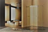 Frameless por recinto de la ducha del paso