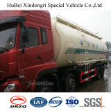 33cbm Dongfeng 유로 3 강화된 흑연 유조 트럭