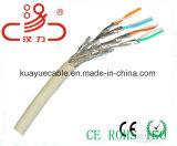 Сетевой кабель CAT6A, 500 Мгц, кабель UTP, 23AWG, твердых и неизолированной медью /кабель передачи данных и кабель связи/разъем