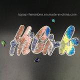 جديدة تصميم لون قرنفل [هيجرلس] [هوتفيإكس] بلّوريّة [رهينستون] رقعة [199.9كم] يمزج ينظم [أبّليقو] لأنّ لباس داخليّ ([تب-هيغريلس])
