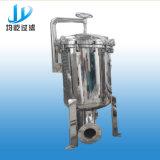 Filtro múltiplo automático industrial do cartucho do aço inoxidável