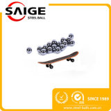 Bille en acier nickelée de taille et de pente solides solubles de variation