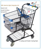 100L America Style Shopping Cart