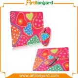 Подгонянный цветастый коврик для мыши PVC резины