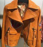 Embroidered Suede Jacket, grand collier de procès, vêtement de Madame de mode