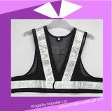 Het Eenvoudige Vest van het Product van de veiligheid met Embleem die Ksv017-005 brandmerken