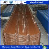 Gewölbtes PPGI Stahldach-Blatt-Farben-Stahlblech-Dach des PPGI Stahls mit Modell Yx25-210-840 (1050)