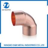 Dr 7019 El mejor precio de 90 grados de accesorios de cobre