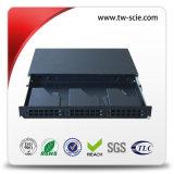 Sc LC MPOカセットのための1.2mmのシンプレックス/デュプレックス1uパッチ・パネル