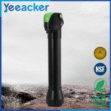 Portable que acampa y que va de excursión el filtro de agua de la paja de beber de la supervivencia