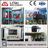 Vier Station-hydraulisches Steuerplastiknahrungsmittelbehälter, der Maschine bildet