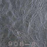 Venda por grosso de Cera de óleo de Grãos Rachados sofá de couro artificial de PVC (908#)