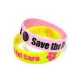 3/4 di marchio di abitudine del braccialetto del Wristband del silicone