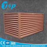 De houten Dekking van de Airconditioner van het Aluminium van het Ontwerp Openlucht