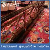 Personalizada de fábrica Fabricación Negro Titanio de acero inoxidable Barandilla de escalera