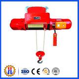 Mini guincho elétrico 12V / plataforma de elevação / guincho elétrico 5 toneladas