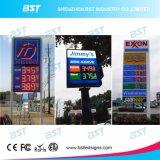 De alto brillo exterior Gas LED de indicación de precios