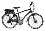 Pièces en aluminium de marque de Shimano de bicyclette de ville d'E-Vélo certifiées par En15194 de la CE de bâti d'alliage électrique de vélo