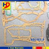4D105-3 de Uitrusting van de Pakking van de Revisie van de Motor van het graafwerktuig voor de Delen van de Dieselmotor