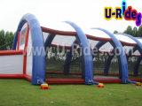 Aufblasbares Bunkerzelt für Paintballspiel