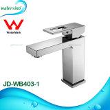 Rubinetto sanitario della stanza da bagno del miscelatore del bacino degli articoli Jd-Wb403-1 con la filigrana