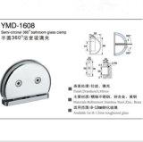 Accesorios de ducha sin marco Puerta de vidrio de acero inoxidable Abrazadera de vidrio semicircular
