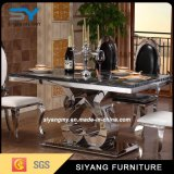 Комплект обедая таблицы мебели нержавеющей стали