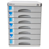 Шкаф хранения стандартного архива офиса ящиков металла 7 Lockable