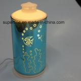 L'olio essenziale della foschia fredda placca il diffusore di vetro con il caricatore del USB