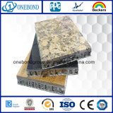 Panneau en aluminium en pierre de nid d'abeilles pour la décoration de construction