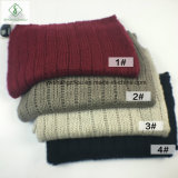 Зимние европейской моды Mohair обычная трикотажные бесконечность Без шарфа горловины подогреватель детского питания